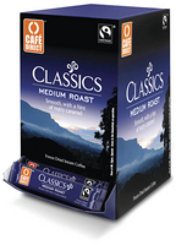 Cafe Direct Fair Trade Freeze Dried Coffee Sticks - 250 Pack