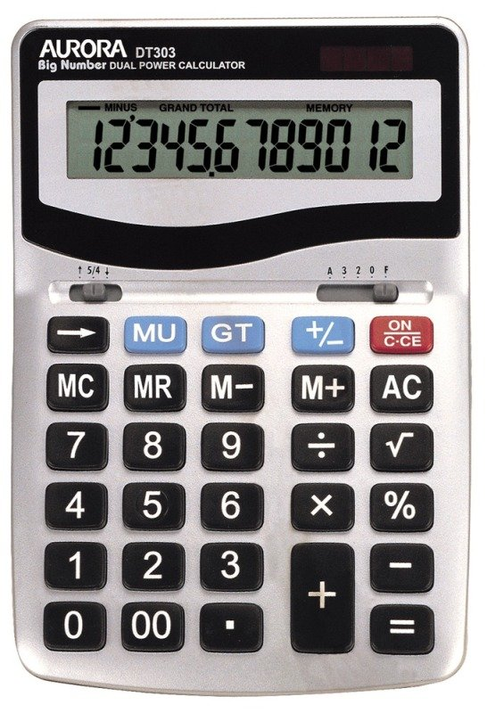 Image of Aurora DT303 Desktop Calculator