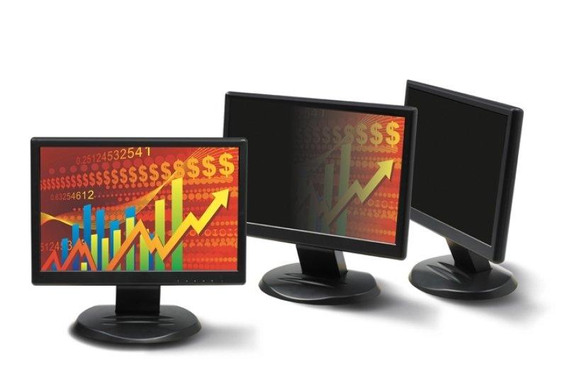 3M Black Privacy Filter for Desktops 19in Widescreen