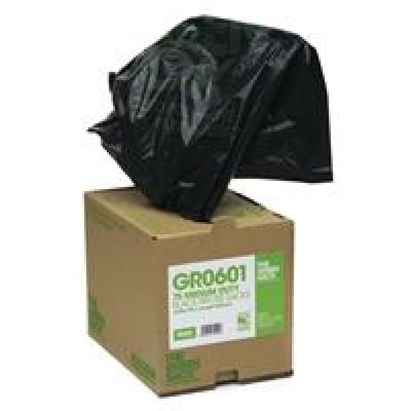 Image of GREENSACK BLACK SACK IN DISP BOX PK75