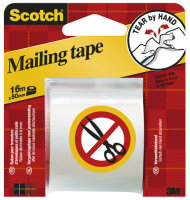 SCOTCH PACK TAPE HAND TEAR 50MMX16M