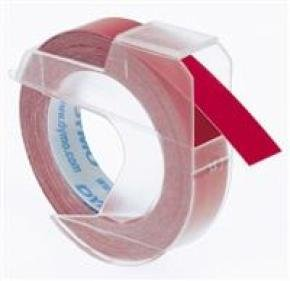 DYMO TAPE 9MMX3M RED S0898150