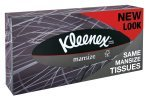 KLEENEX MEN 100 TISSUES WHITE 3717705