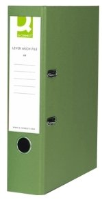 Q-Connect Green A4 Lever Arch File - 10 Pack