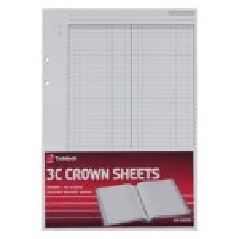 CROWN 3C REFILL PLAIN 75840