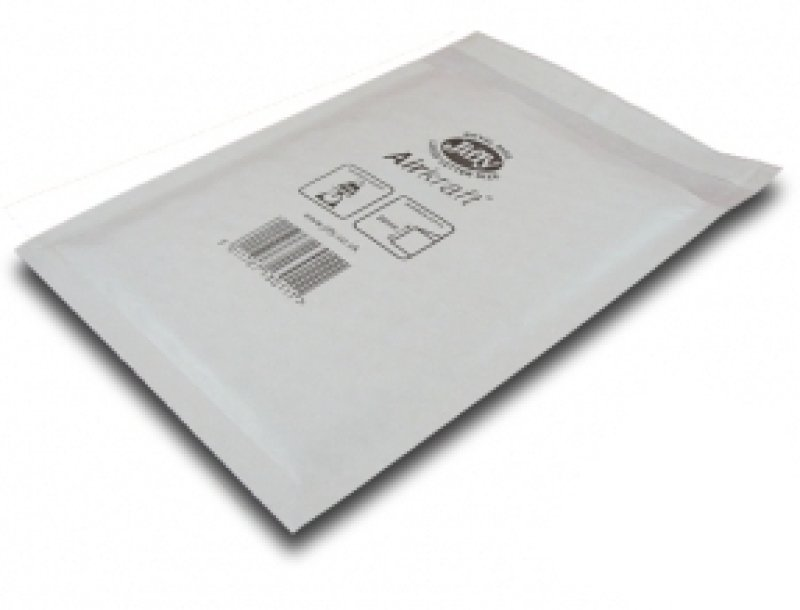 Jiffy Airkraft Postal Bags White 170x245mm