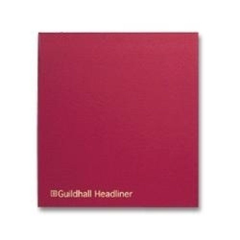 Guildhall Headliner Book 68 Series 6/20 80 Pages