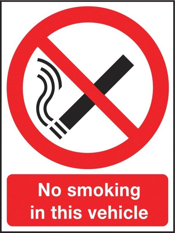 NO SMOKE AGAINST THE LAW 210X148 RIGID