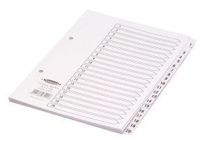 CONCORD INDEX 1-20 A5 WHITE CS72