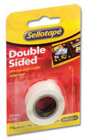 Sellotape Doublesided Tape 15mmx5m 5501 - 12 Pack
