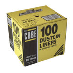LE CUBE DUSTBIN LINERS PK100