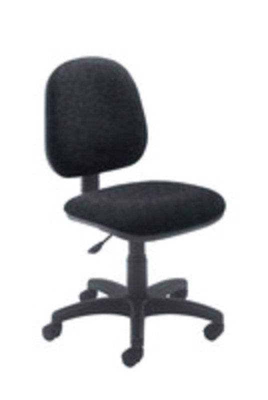 Ff Jemini Medium Back Chair Charcoal