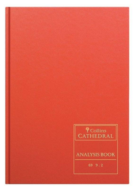 CATHEDRAL ANALYSIS BK 96P RED 69/10.1