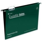 Crystalfile Extra Fc Green Pk25 70628