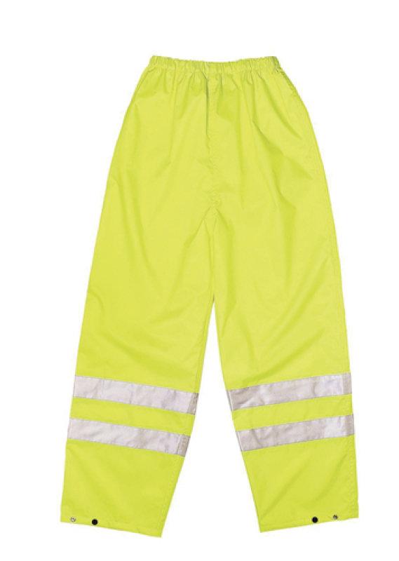 Proforce Hiviz Class1 Trousers Lge Ylw