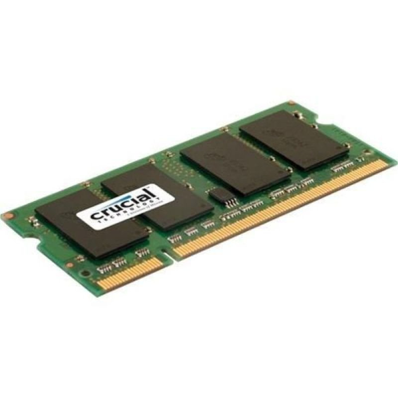 Image of Crucial CT25664AC800 2GB DDR2 800MHz/PC2-6400 Laptop Memory