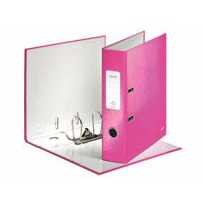 Leitz Wow Lever Arch A4 Folder Pnk - 10 Pack