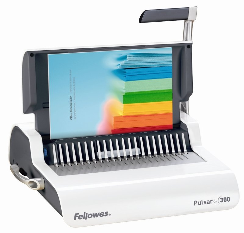 Fellowes Pulsar 300 Manual Comb Binding Machine