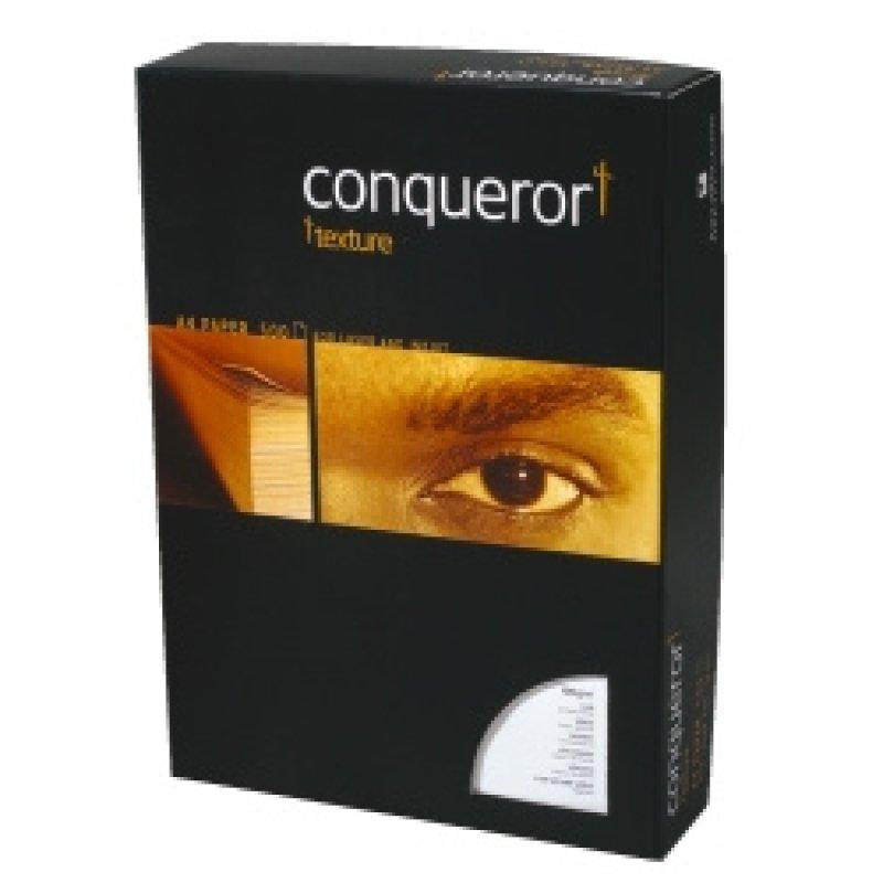 Image of CONQUEROR WOVE CREAM A4 100GSM PK500