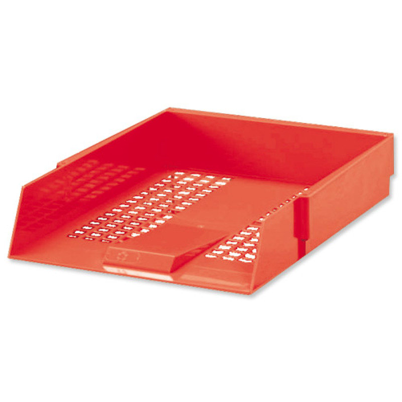 CONTRACT LETTER TRAY RED