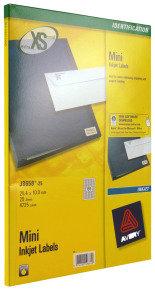 AVERY MINI INKJET LABEL 189LBS/SHT 25SHT