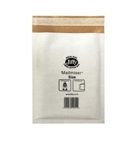 JIFFY MAILMISER 290X445 PK50 WHT MM6
