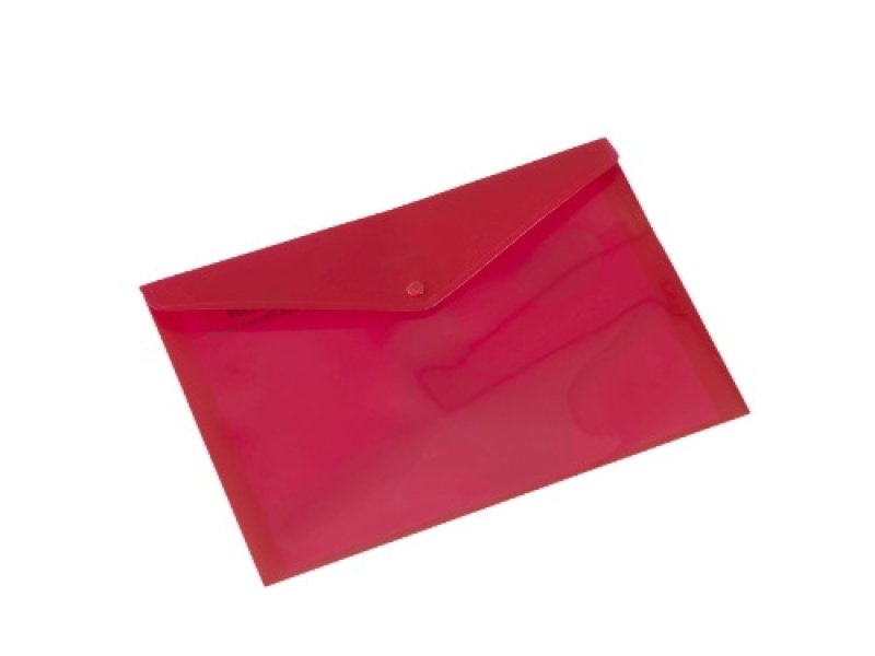 REXEL CARRY FOLDER A4 TRAN RED PK5 9RD
