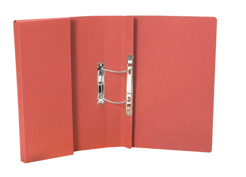 *Guildhall Transfer Spring Pocket File Red - 25 Pack