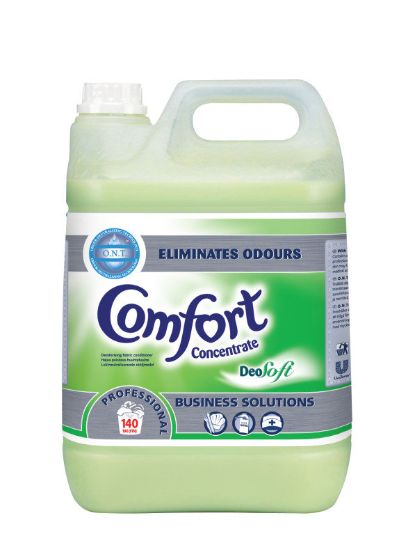 Image of Diversey Comfort Professional Deosoft Fabric Conditioner Concentrate 5 Litre (Pack of 2) 100833958