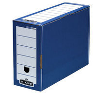 Fellowes Bankers Box Premium Transfer File Blue/White 00059-FF