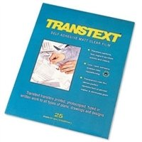TRANSTEXT A4 210MMX297MM PK25 11413