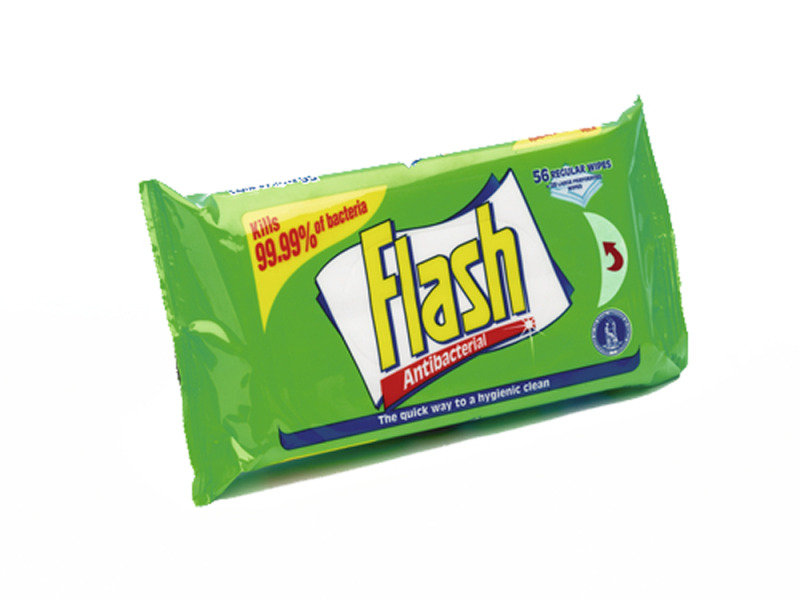 Flash Strong Weave Anti-Bacterial Cleaning Wipes