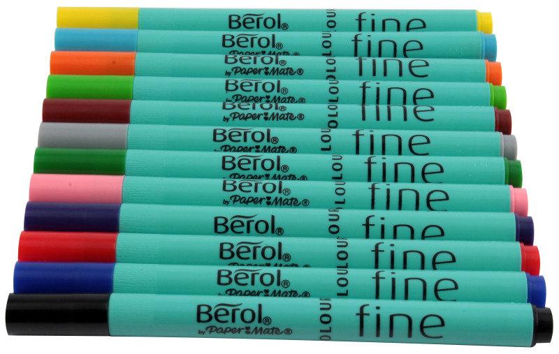 Berol Colourfine Asstd Wlt12 Cfw12