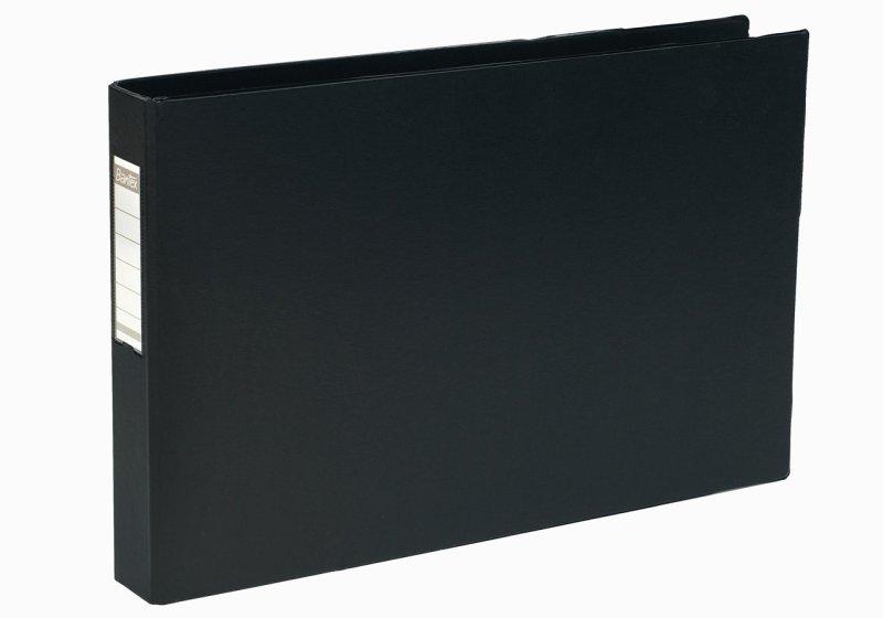 BANTEX 4D-RING BNDR PVC A3 30MM OBL BLK