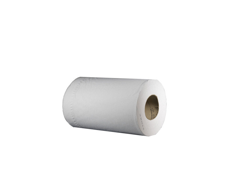 Image of Tork Reflex White 2 Ply Mini Wiper Roll (Pack of 9)