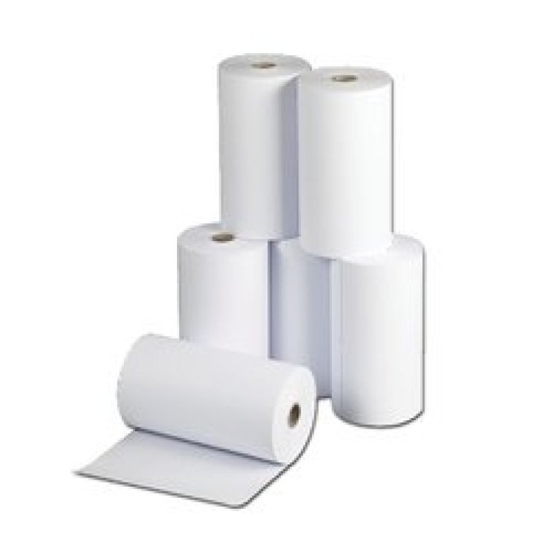 Premier White Telex Roll 1-Ply 214x120mm (Pack of 6)