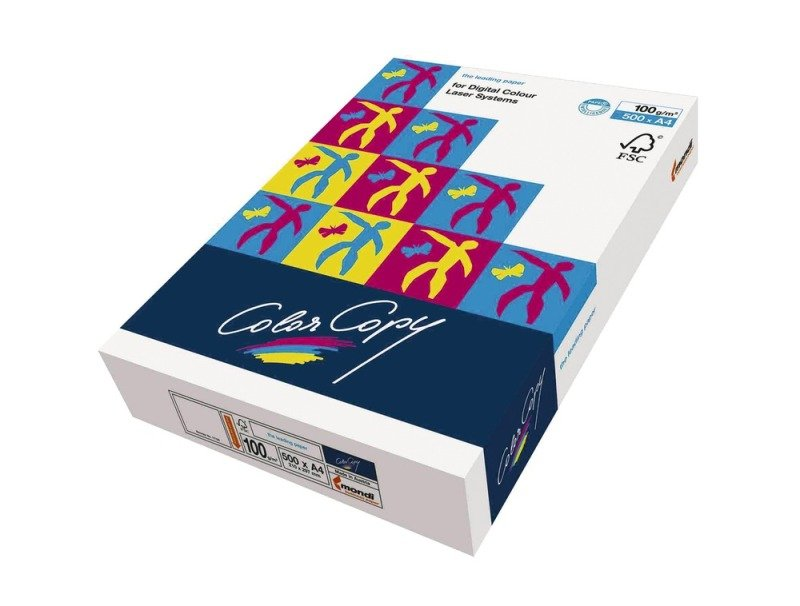 Color Copy A4 Paper 100gsm White (Pack of 500)