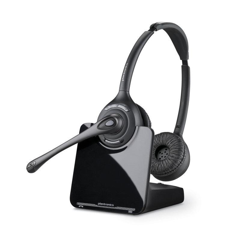 Image of Plantronics CS520 Wireless Binaural DECT Headset