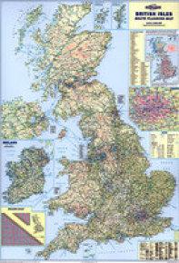 MAP BRITISH ISLES MOTORING           BIM