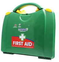 WALLACE GREEN BOX 10 PERSON FIRSTAID KIT