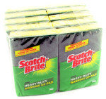 3M Scotch-Brite Washing Up Scouring Sponge Pk 10