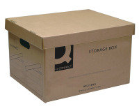Q Connect Economy Storage Box - 10 Pack