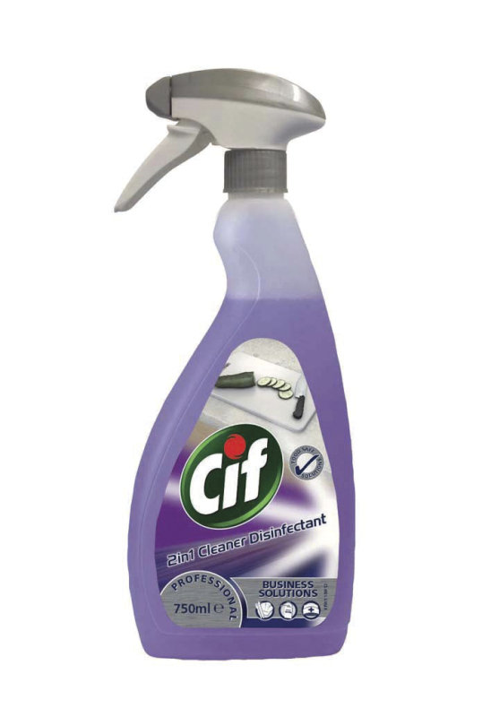 Image of CIF PROF 2IN1 CL/DISINF 750ML 7517920