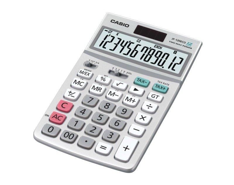 Casio JF-120ECO Desktop Calculator