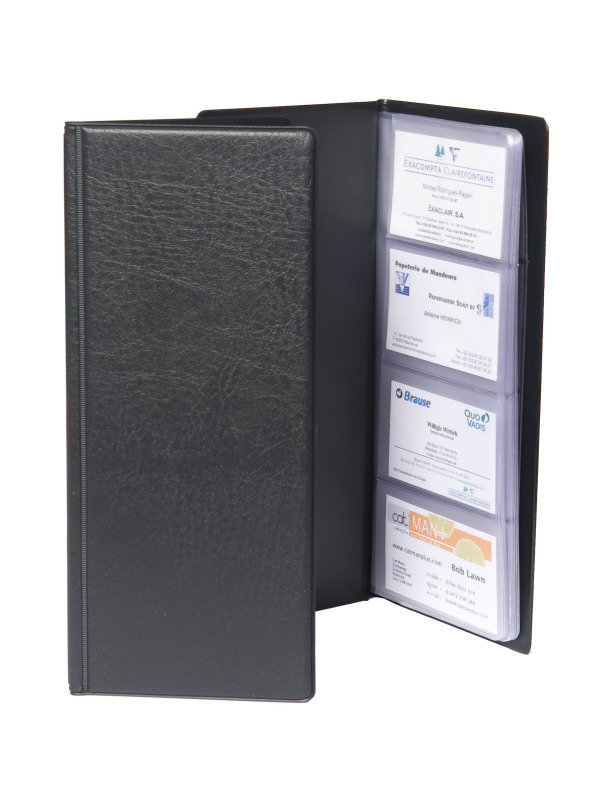 Guildhall Business Card Holder Black