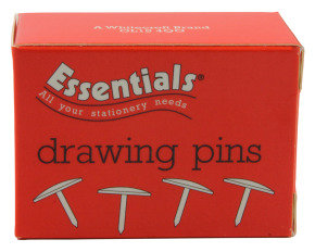 Essentials Drawing Pin 11mm Pk100