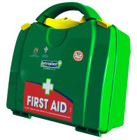 WALLACE LARGE FIRST AID KIT GRN 1002657