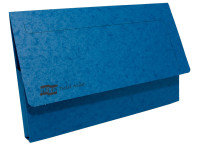 Europa Pocket Wallet Foolscap Blue 5255z - 10 Pack