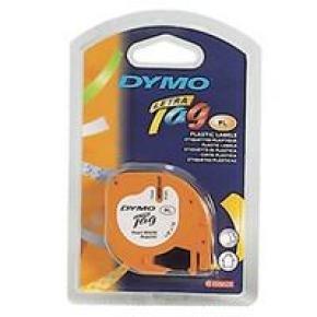 DYMO LETRATAG PLAS TAPE 12MMX4M HYPR YLW