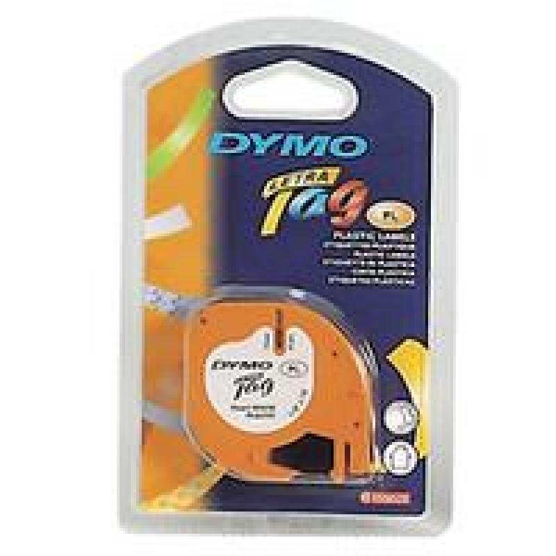 Click to view product details and reviews for Dymo Letratag Plas Tape 12mmx4m Hypr Ylw.